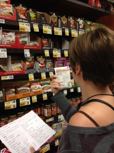 Stocking up on some Pantry items for an upcoming trip.
